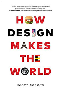 book cover: how design makes the world
